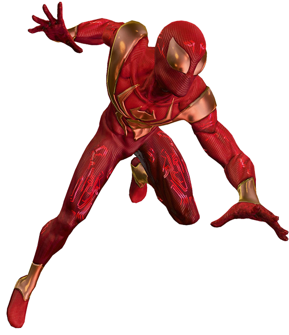 Iron Spiderman Free Download PNG Image