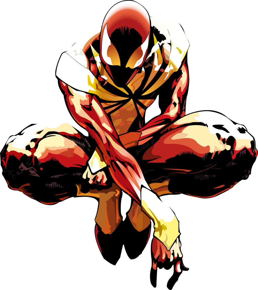 Iron Spiderman Transparent Background PNG Image