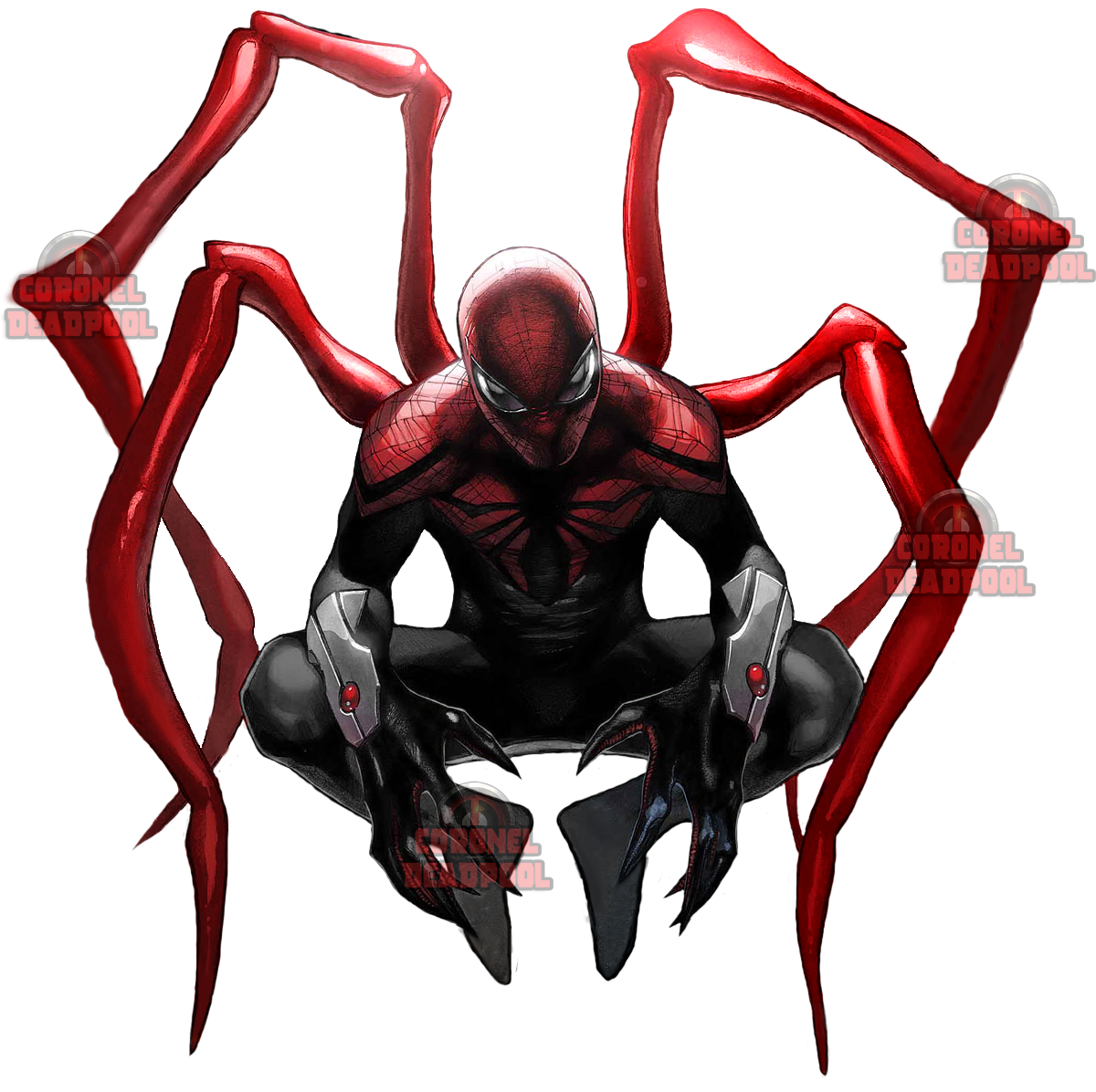 Iron Spiderman Transparent Picture PNG Image