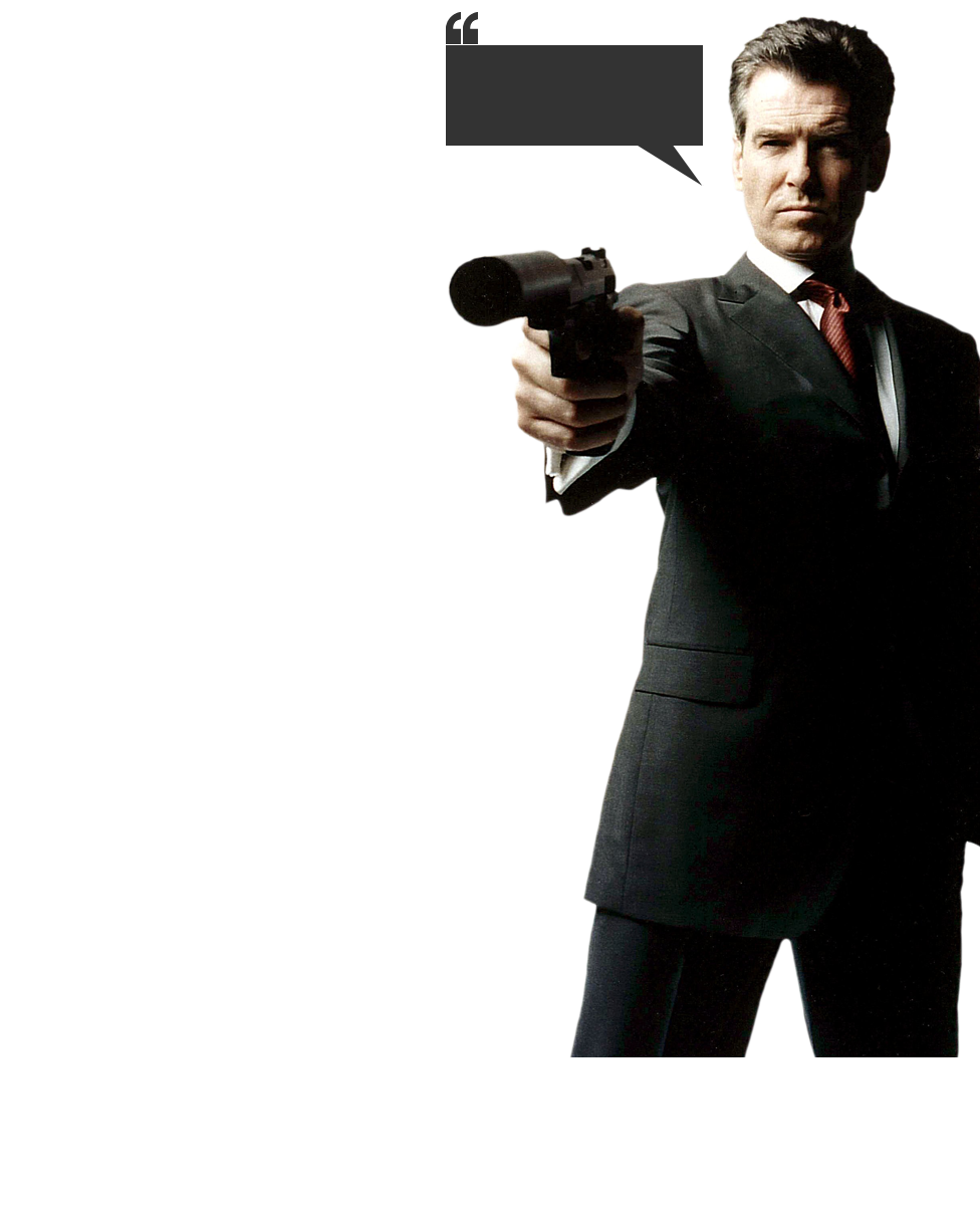 James Bond Image PNG Image