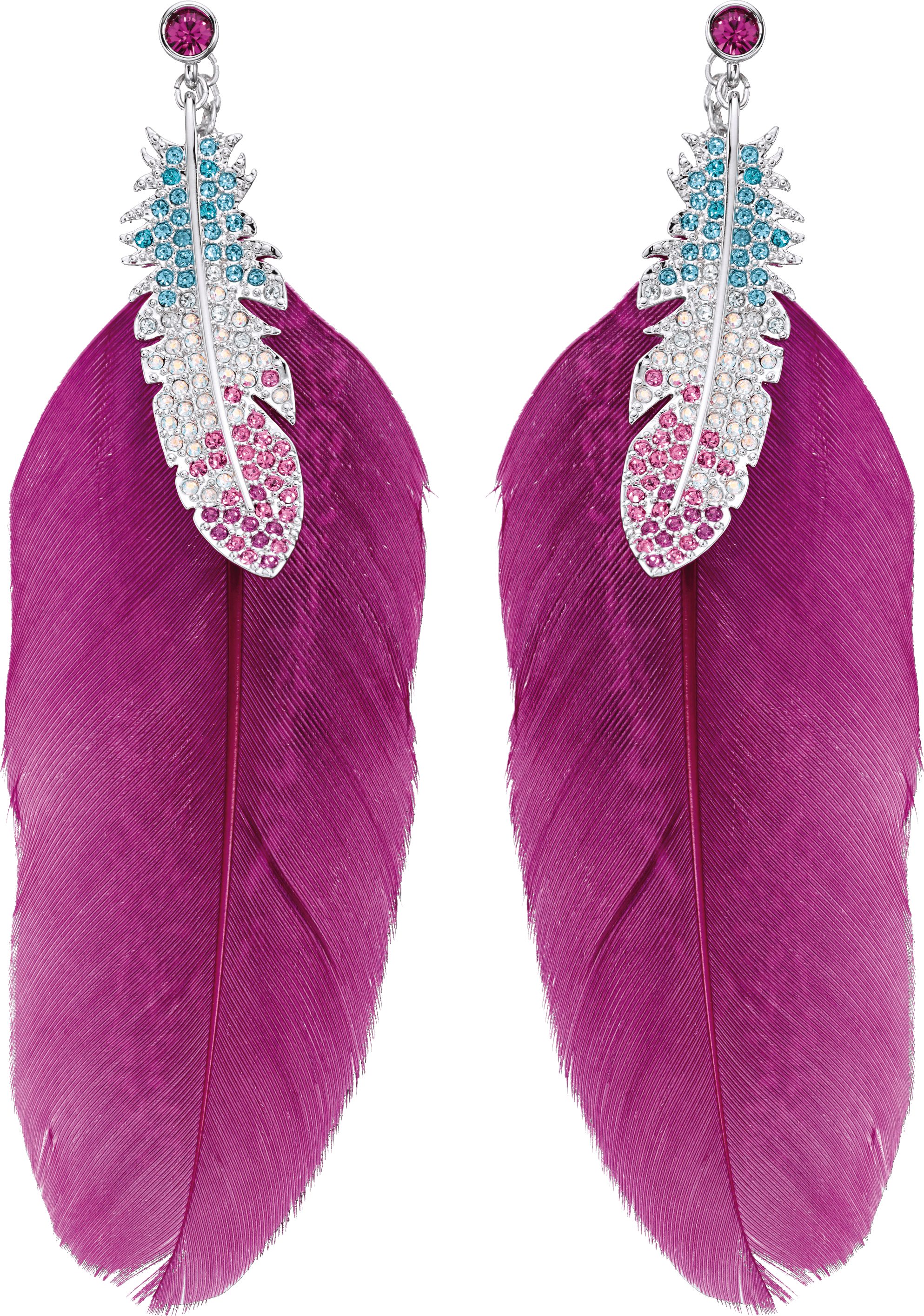 Feather Earrings Png Image PNG Image