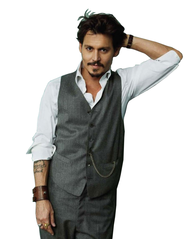 Johnny Depp Transparent Image PNG Image