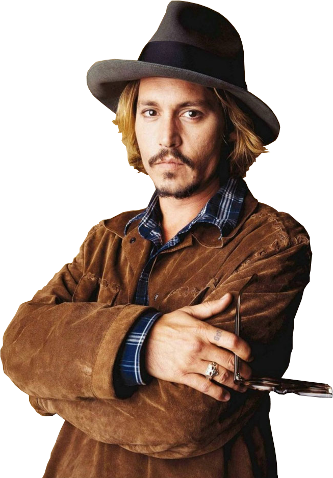 Johnny Depp Clipart PNG Image