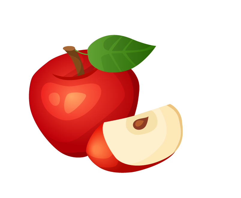 Juice Apple Cartoon PNG Free Photo PNG Image
