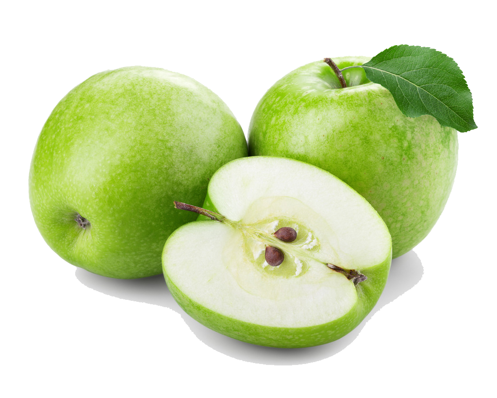 Crisp Apple Juice Green Fresh Extract PNG Image