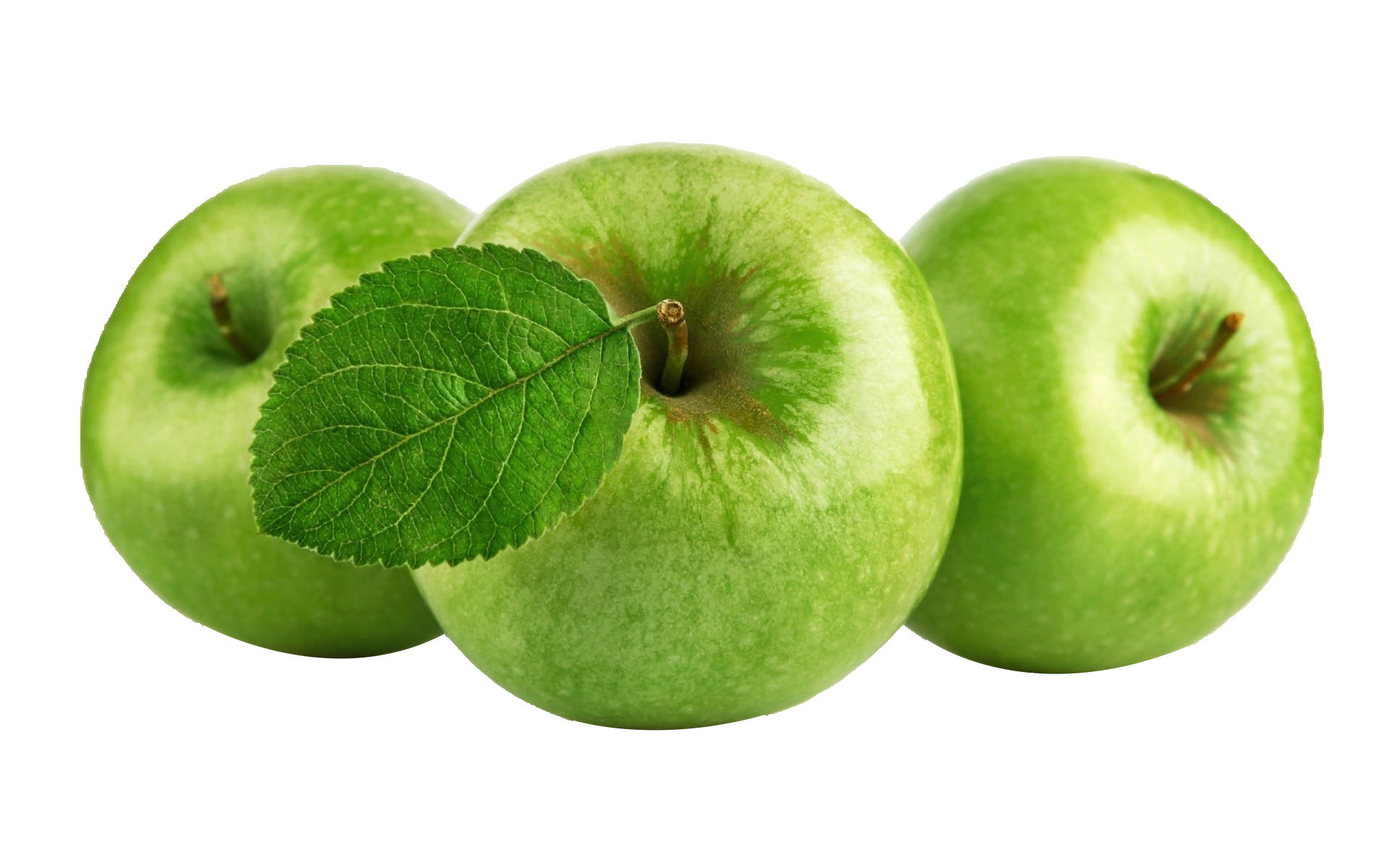 Crisp Apple Smoothie Three Juice Apples PNG Image
