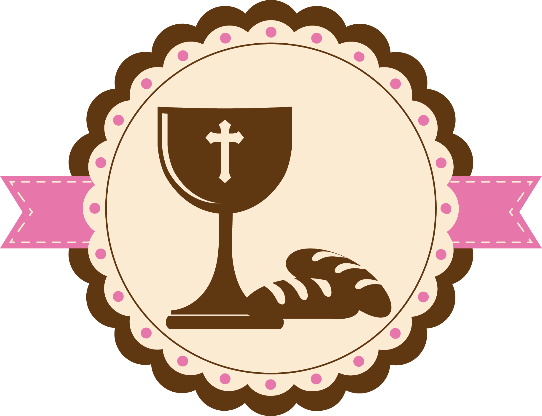 Vector Eucharist Communion Icon First Free Transparent Image HD PNG Image