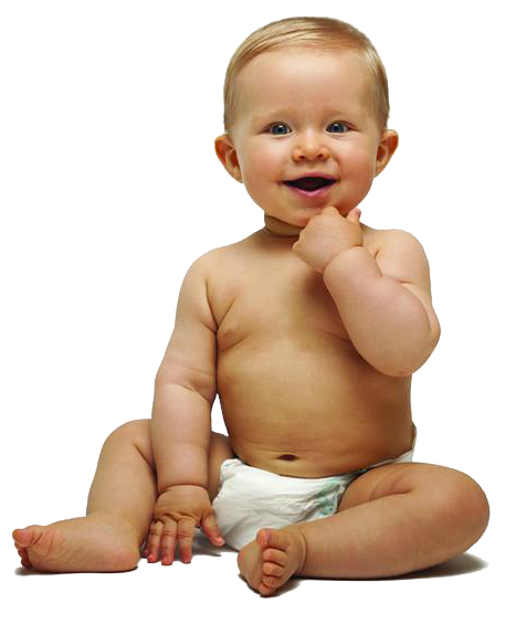 Little Baby Boy Transparent Background PNG Image