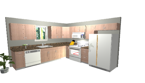 Kitchen Clipart PNG Image