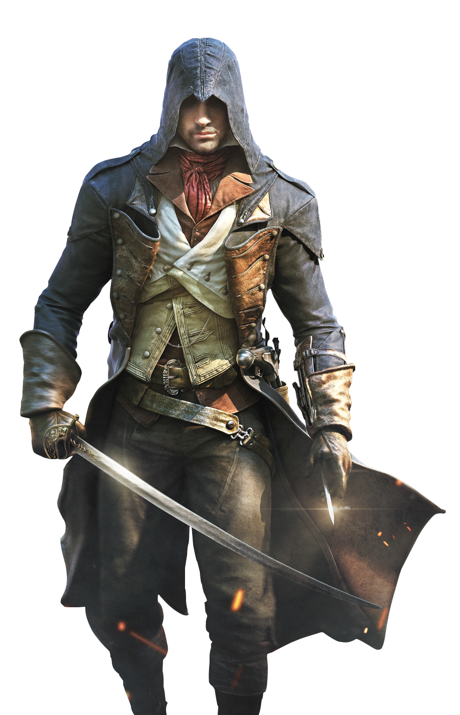 Knight Creed Unity Iv Flag Black Assassin PNG Image