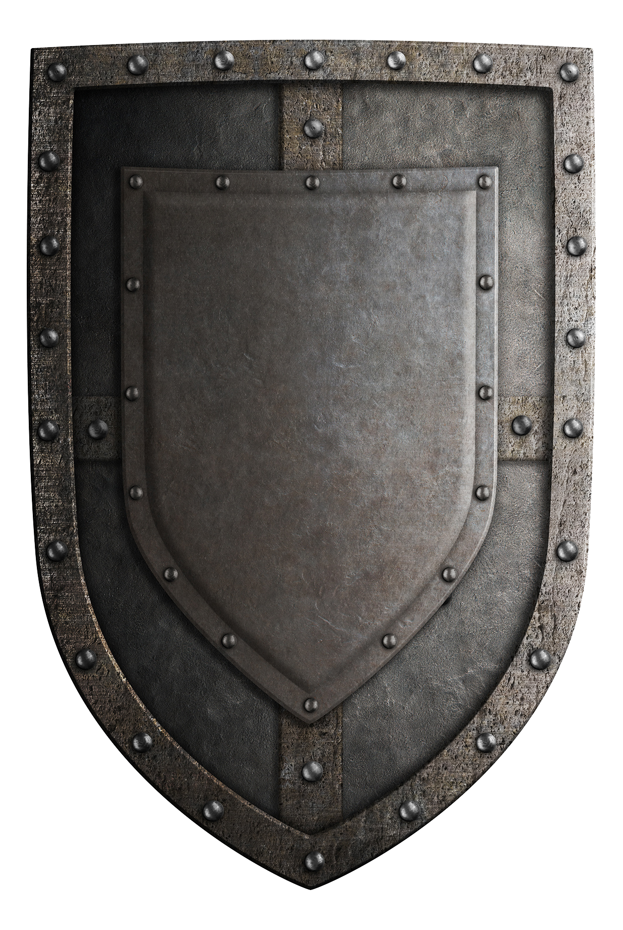 Crusades Shield Metal Ages Middle Angle PNG Image