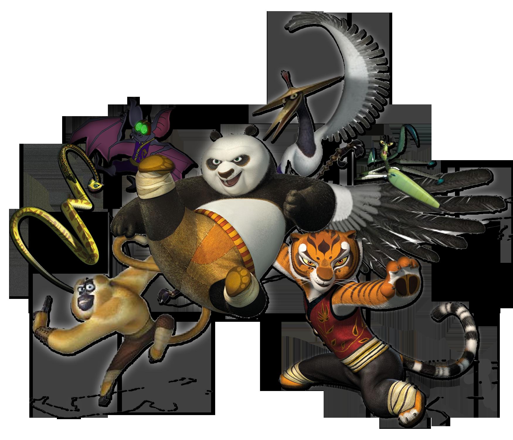 Download Kung Fu Panda Characters Png Hq Png Image Freepngimg