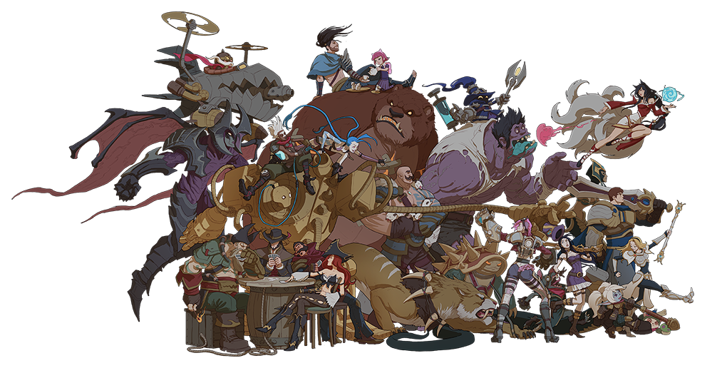 Download League Of Legends Characters Clipart HQ PNG Image ...