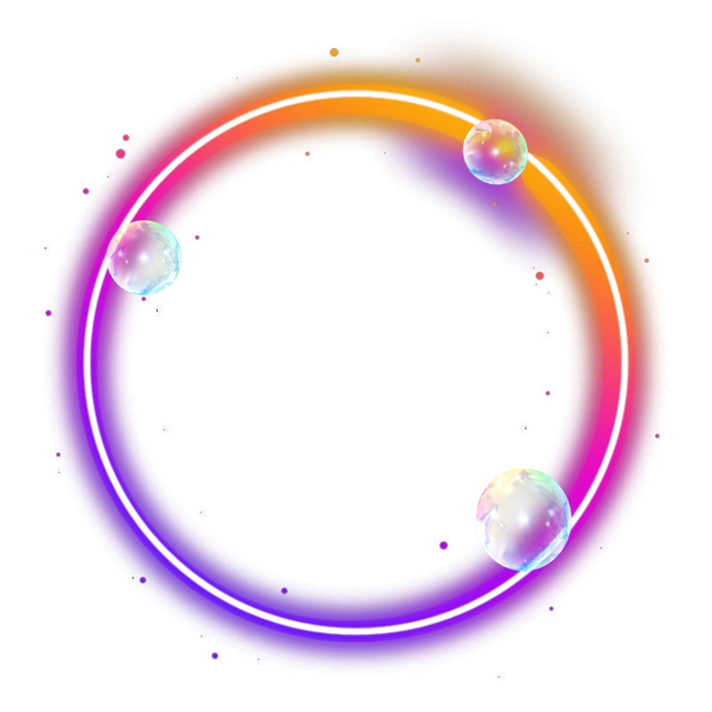 Color Light Ring Effect PNG Free Photo PNG Image