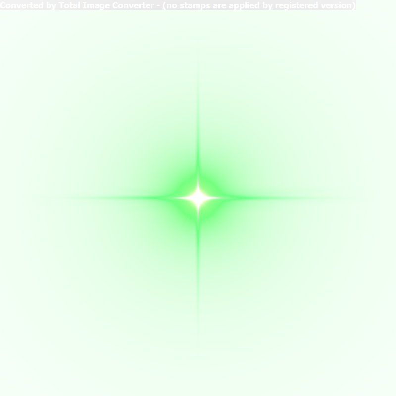 Star Efficacy Twinkle Light Green Luminous PNG Image