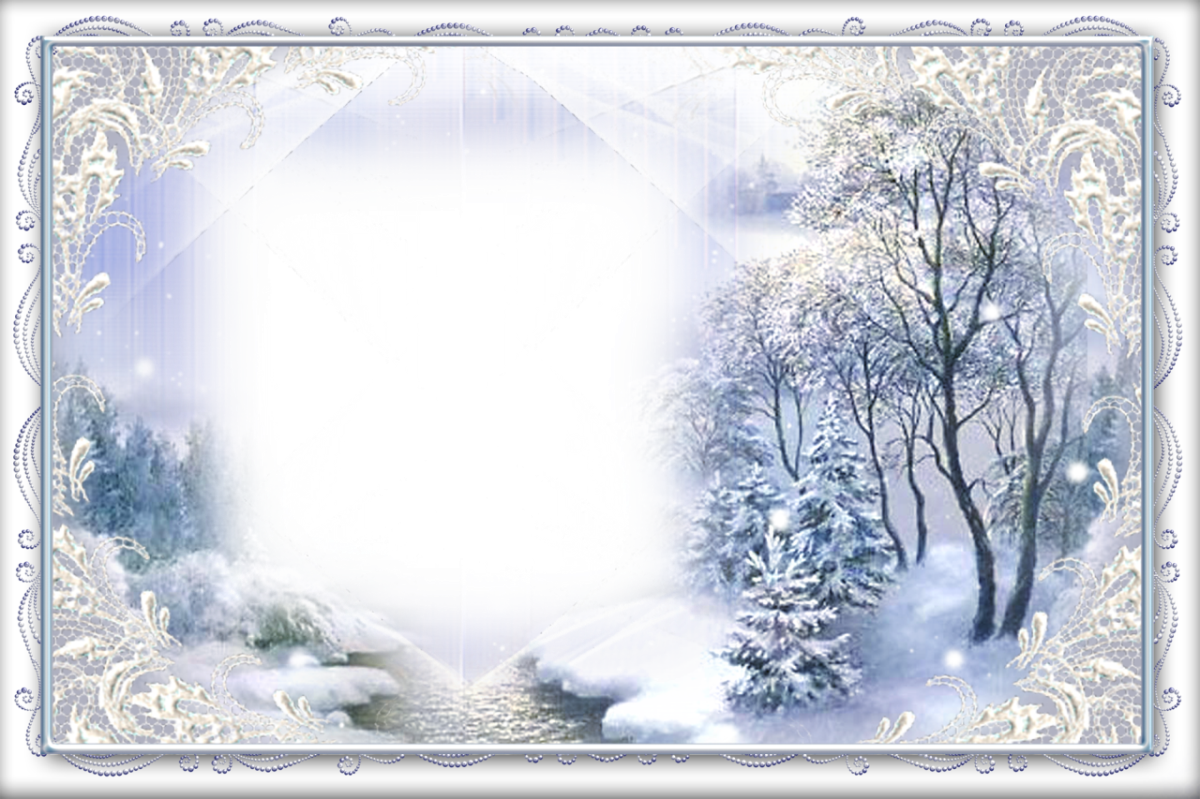 Frames Picture Winter Light Free Download PNG HQ PNG Image