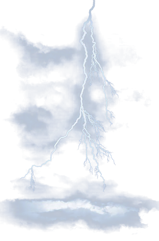 Blue Light Effect Lightning PNG Download Free PNG Image