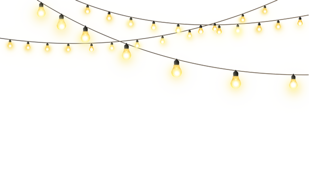 Pull Star String Creative Lights Lighting PNG Image