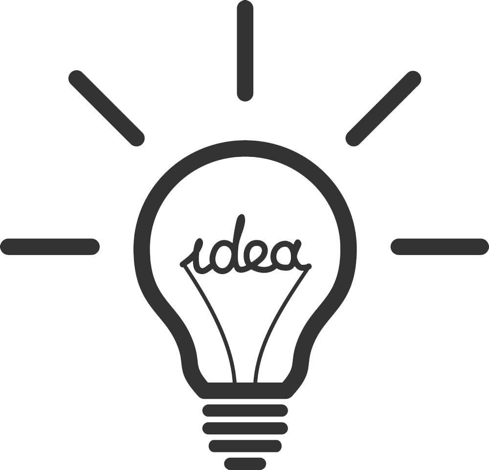 Idea Light Incandescent Bulb HD Image Free PNG PNG Image