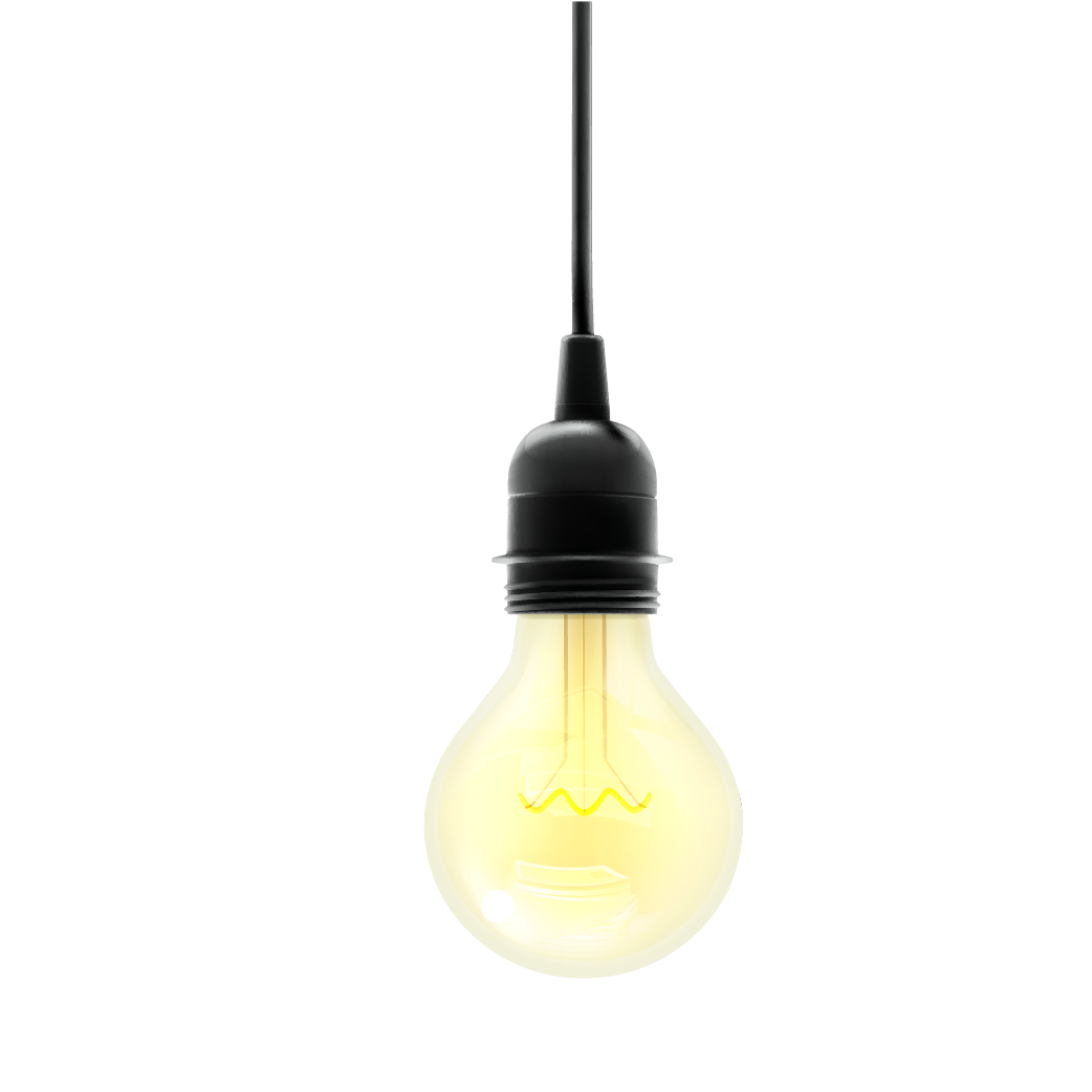 Light Lamp Incandescent Yellow Bulb HD Image Free PNG PNG Image
