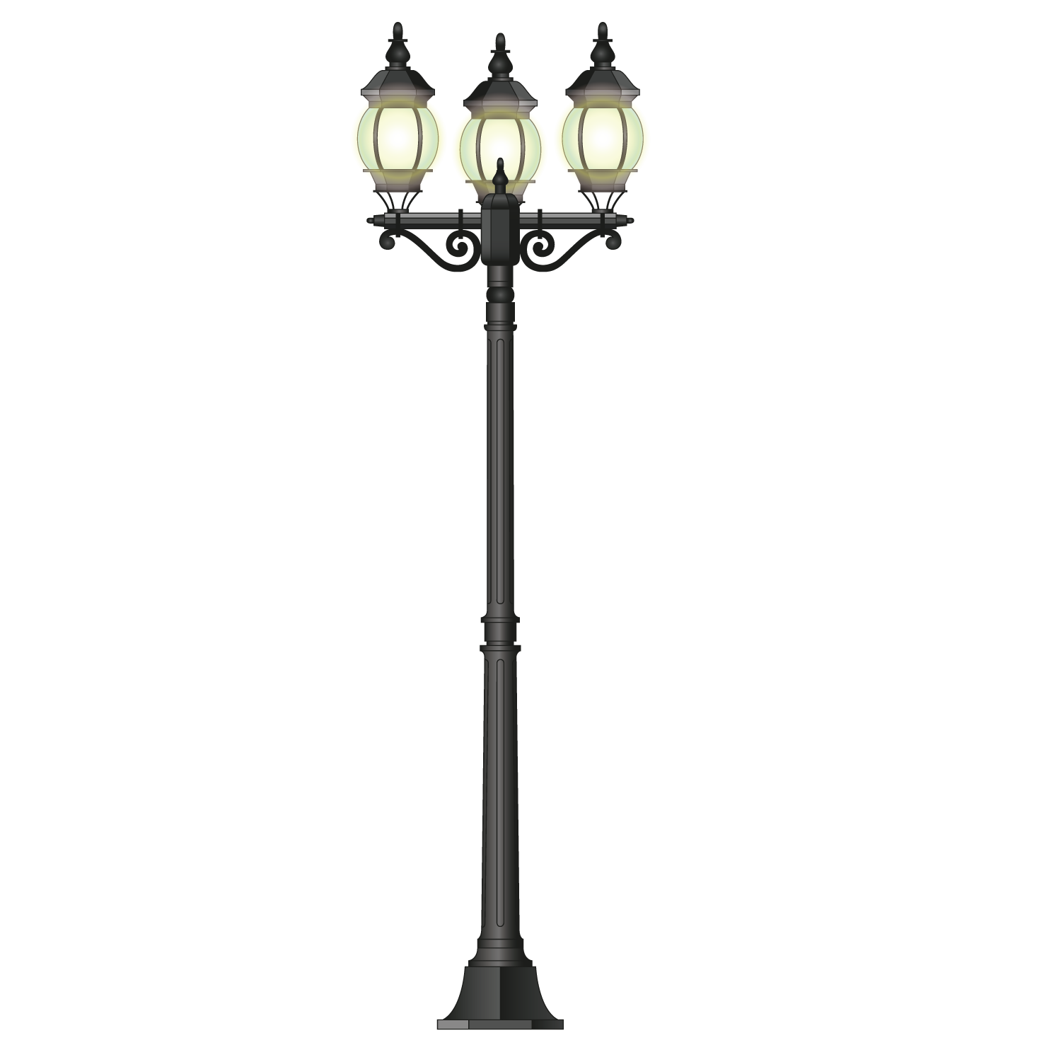 Beautiful Light Lamp Street Led Free Download PNG HD PNG Image