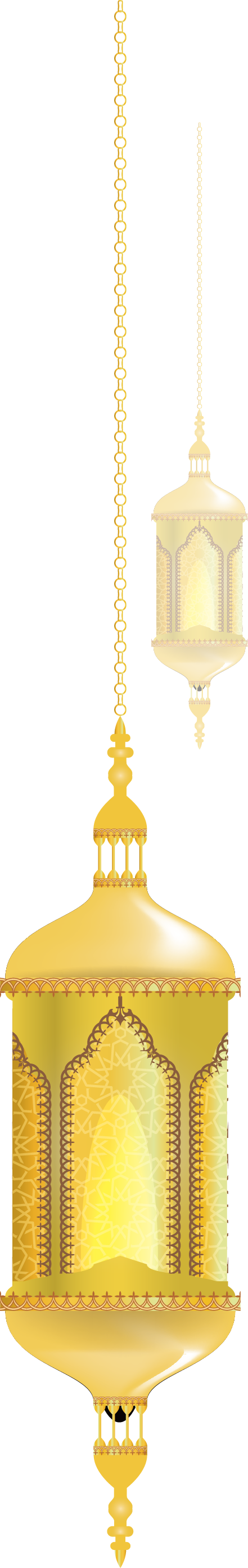Golden Light Fixture Yellow Lights Vector Lighting PNG Image