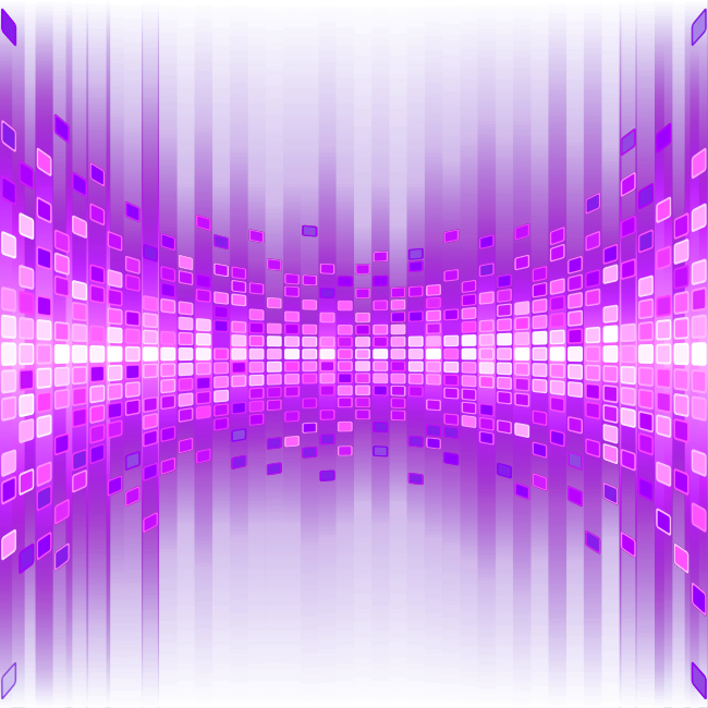 Graphic Particle Purple Light Effect Design PNG Image