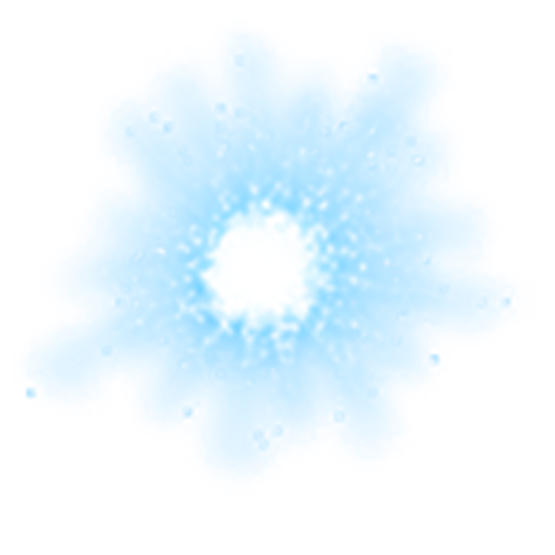 Light Magic Effect Meteor Free Frame PNG Image