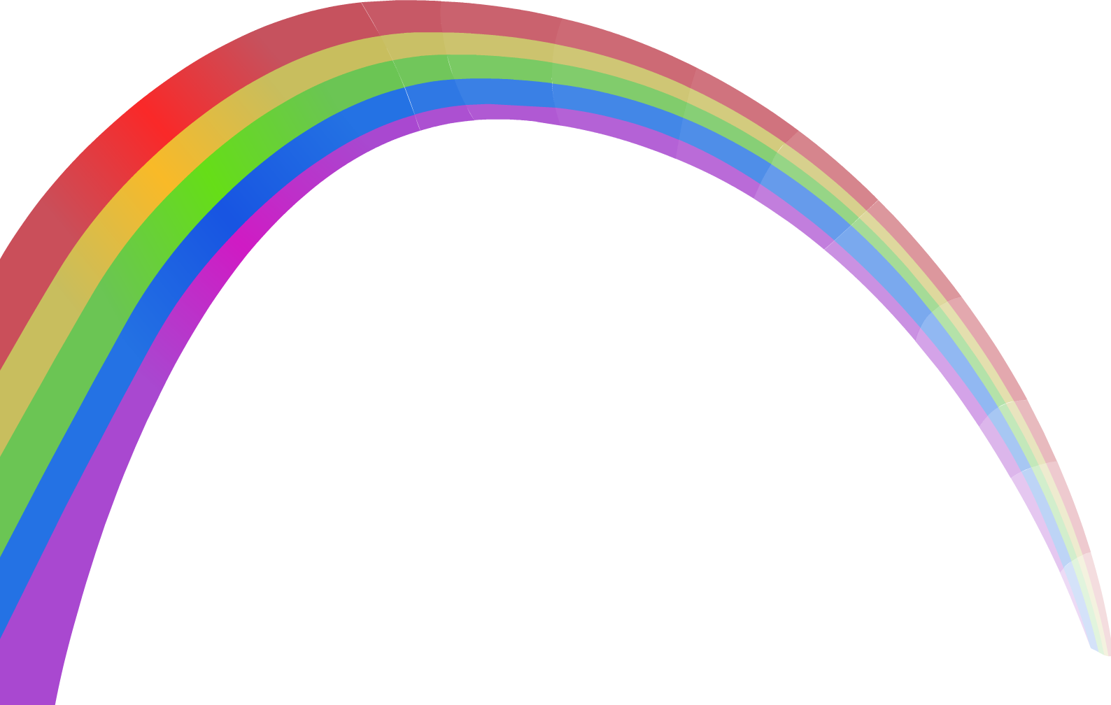 Pink Rainbow Circle Angle Light Free PNG HQ PNG Image