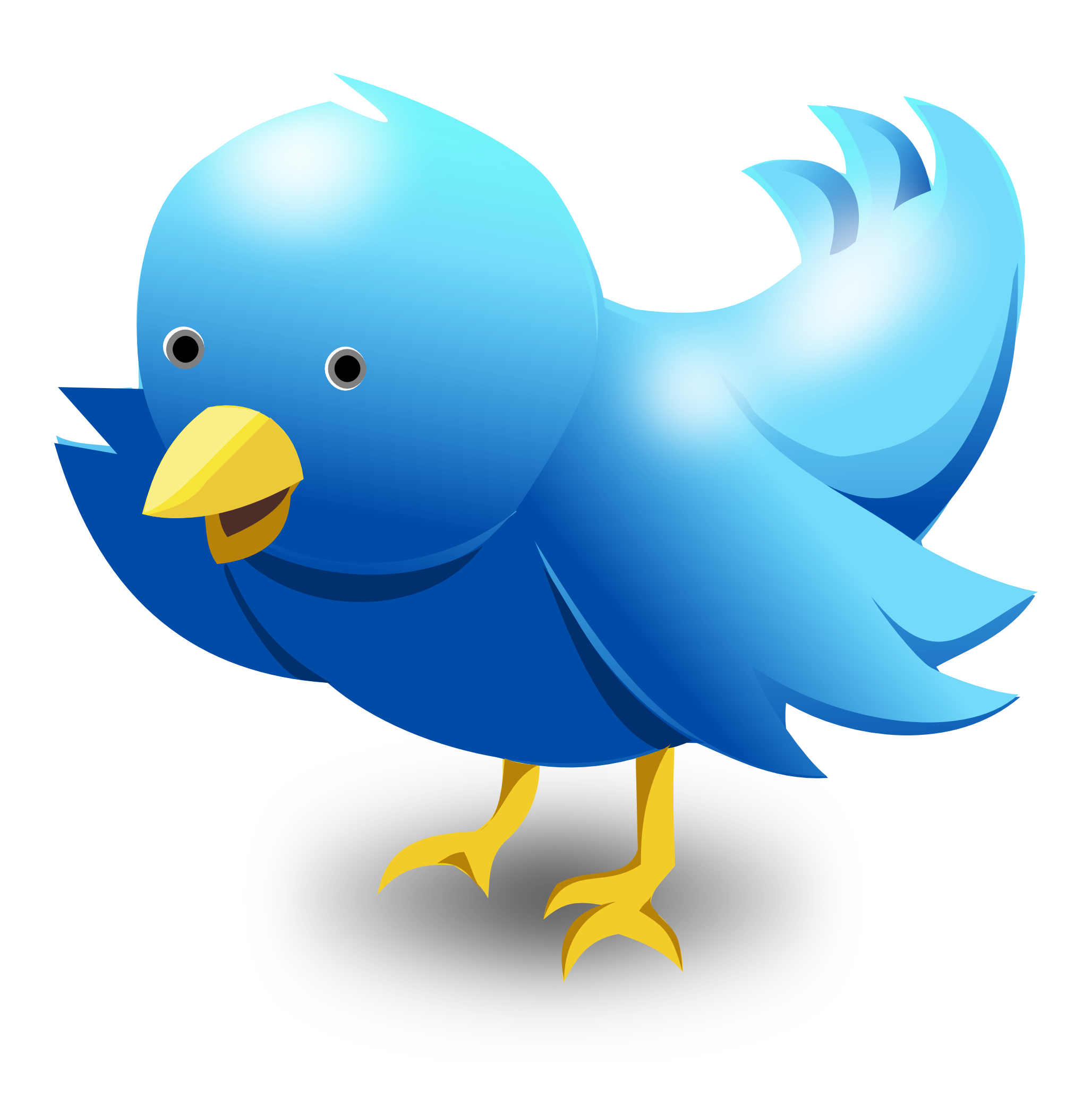 Logo Twitter Vector Bird Free Transparent Image HQ PNG Image