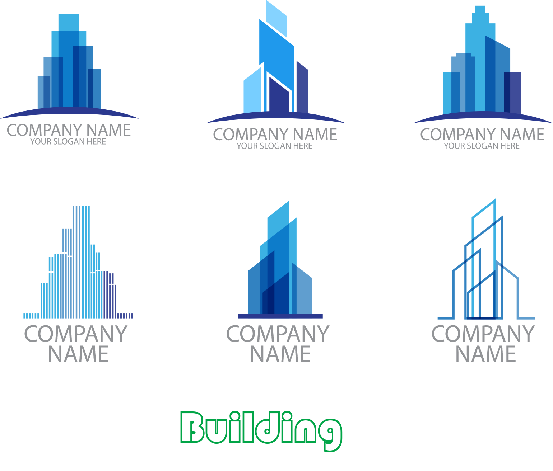 Download Building Logo Vector Design Stylish Free Transparent Image HQ HQ PNG Image   FreePNGImg