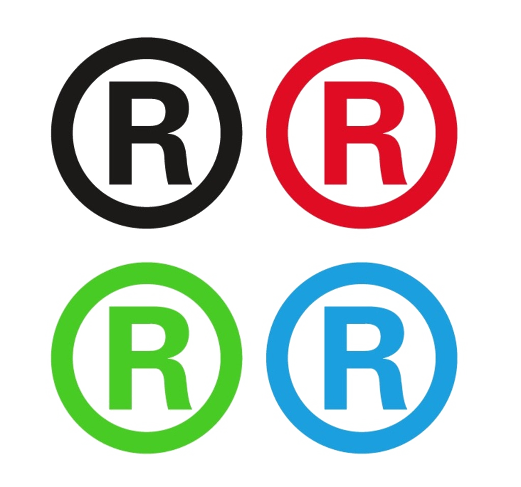 Registered Material Trademark Logo Symbol Icon PNG Image
