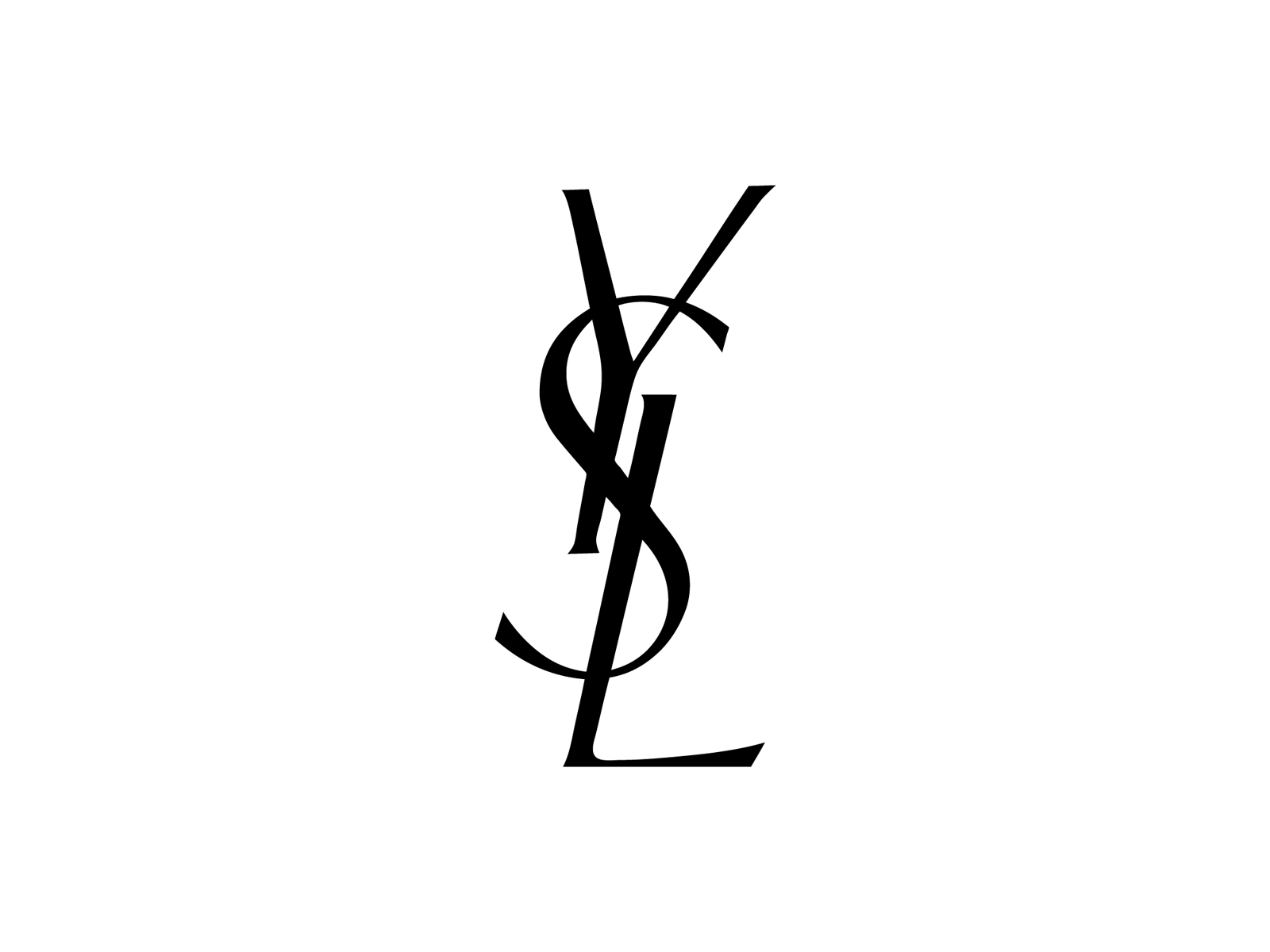 Yves Fashion Laurent Brand Perfume Saint Logo PNG Image