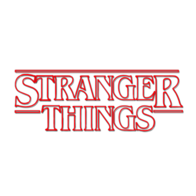 Stranger Area Season Sticker Eleven Text Things PNG Image