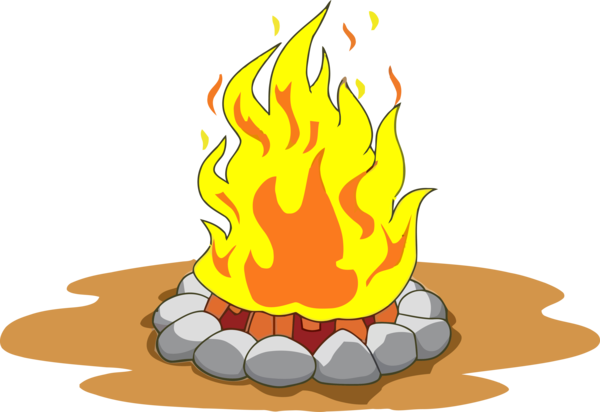 Lohri Flame Fire Campfire For Happy Drawing PNG Image