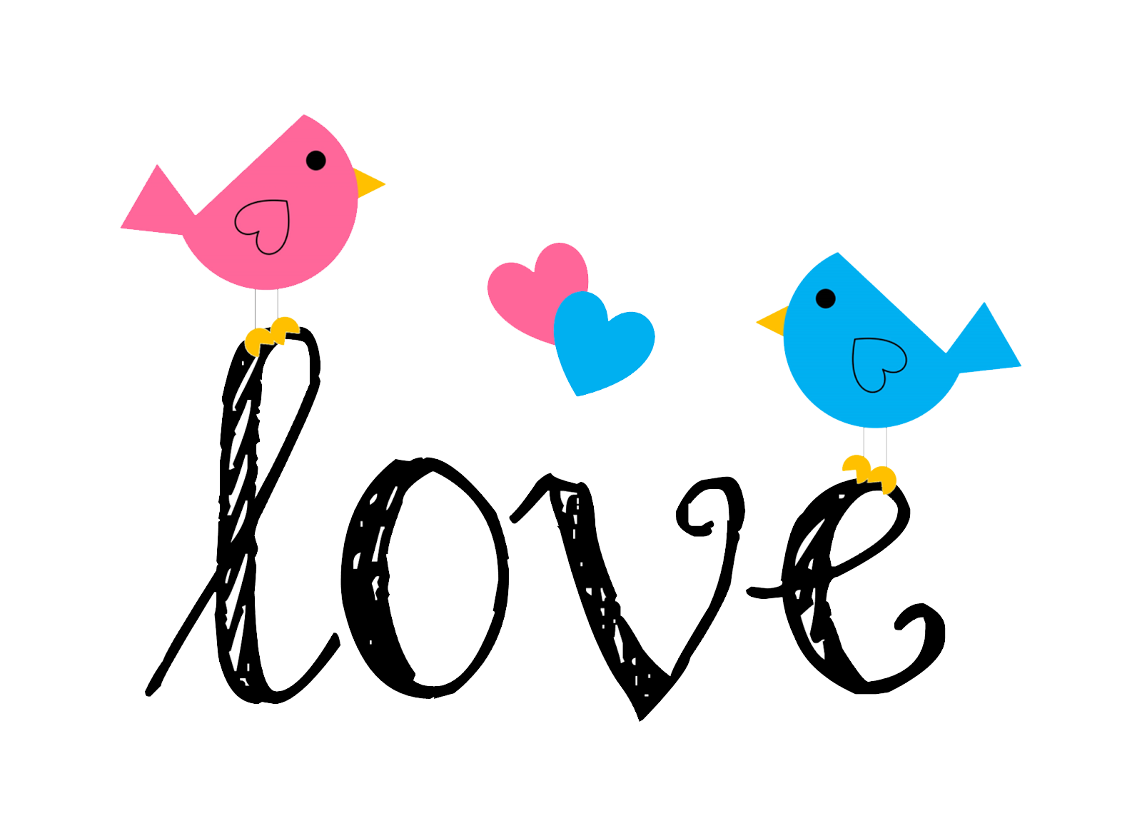 Love Birds Png PNG Image