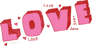 Love Text Free Png Image PNG Image