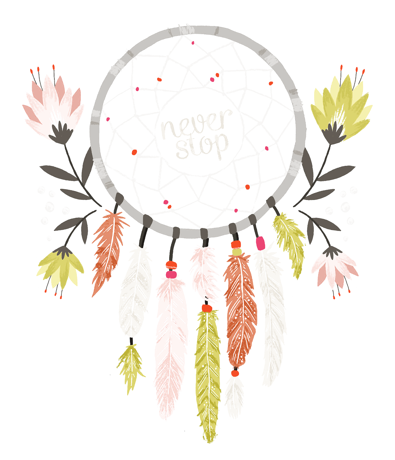 Dream Catcher Transparent Background PNG Image