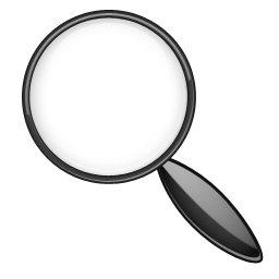 Magnifying Glass Icon PNG Image