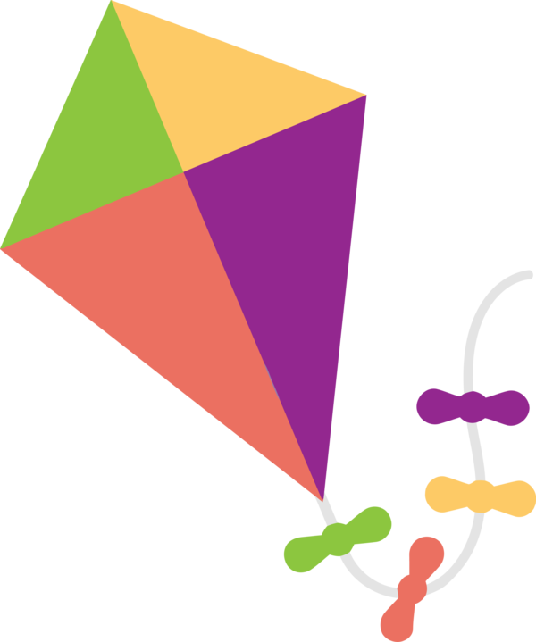 Makar Sankranti Line Triangle Construction Paper For Happy Goals PNG Image