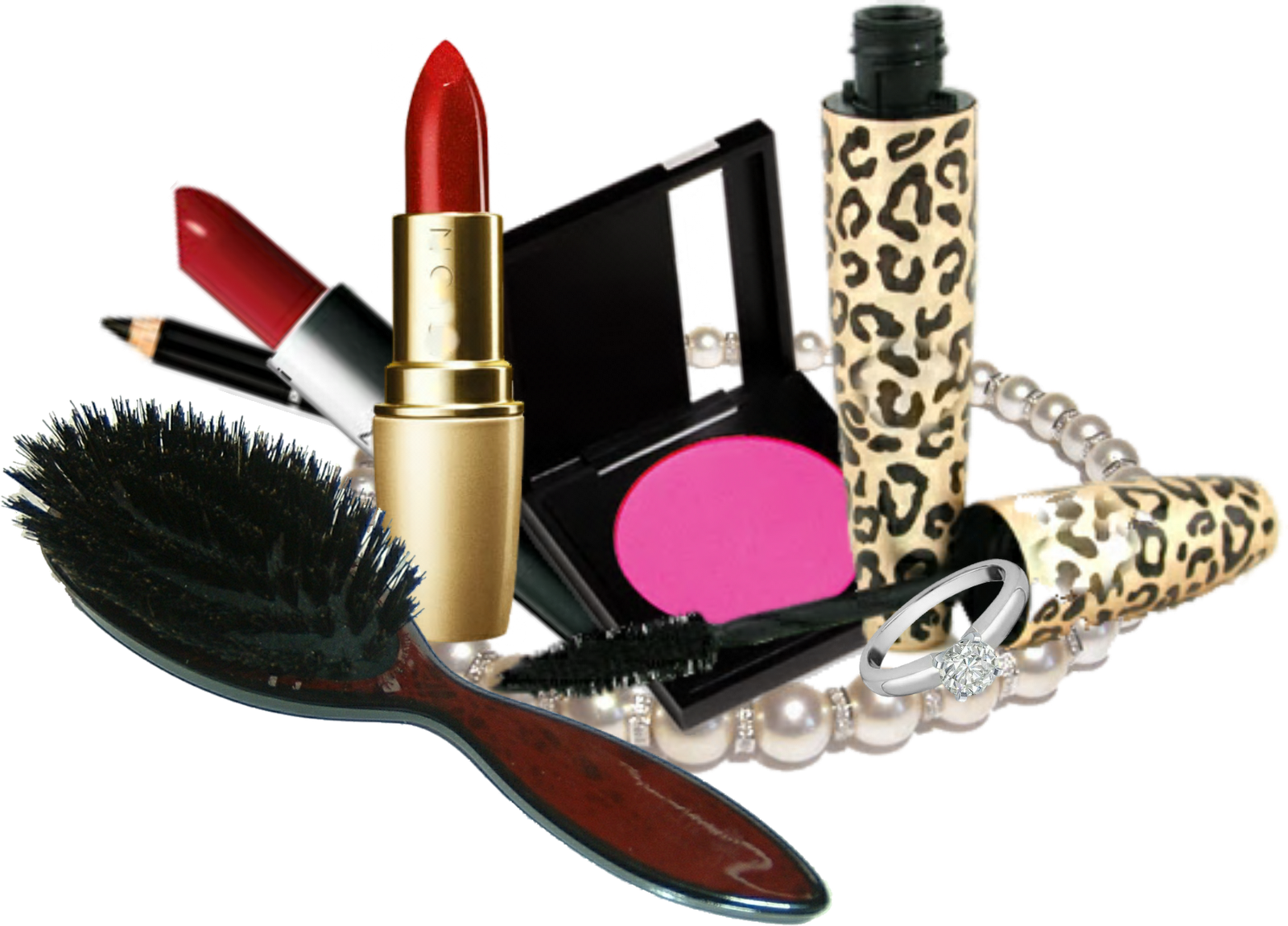 Makeup Kit Products Free Download Png PNG Image