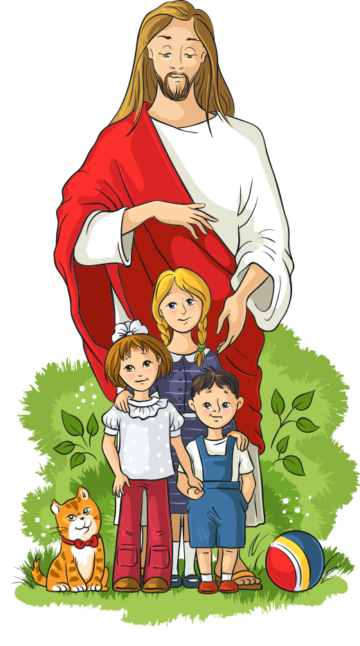 And Illustration Royalty-Free Vector Child Jesus Children PNG Image