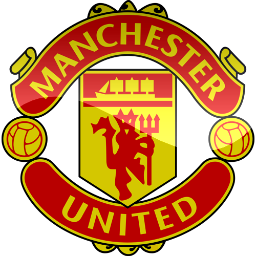 Manchester United 3D Logo Png PNG Image