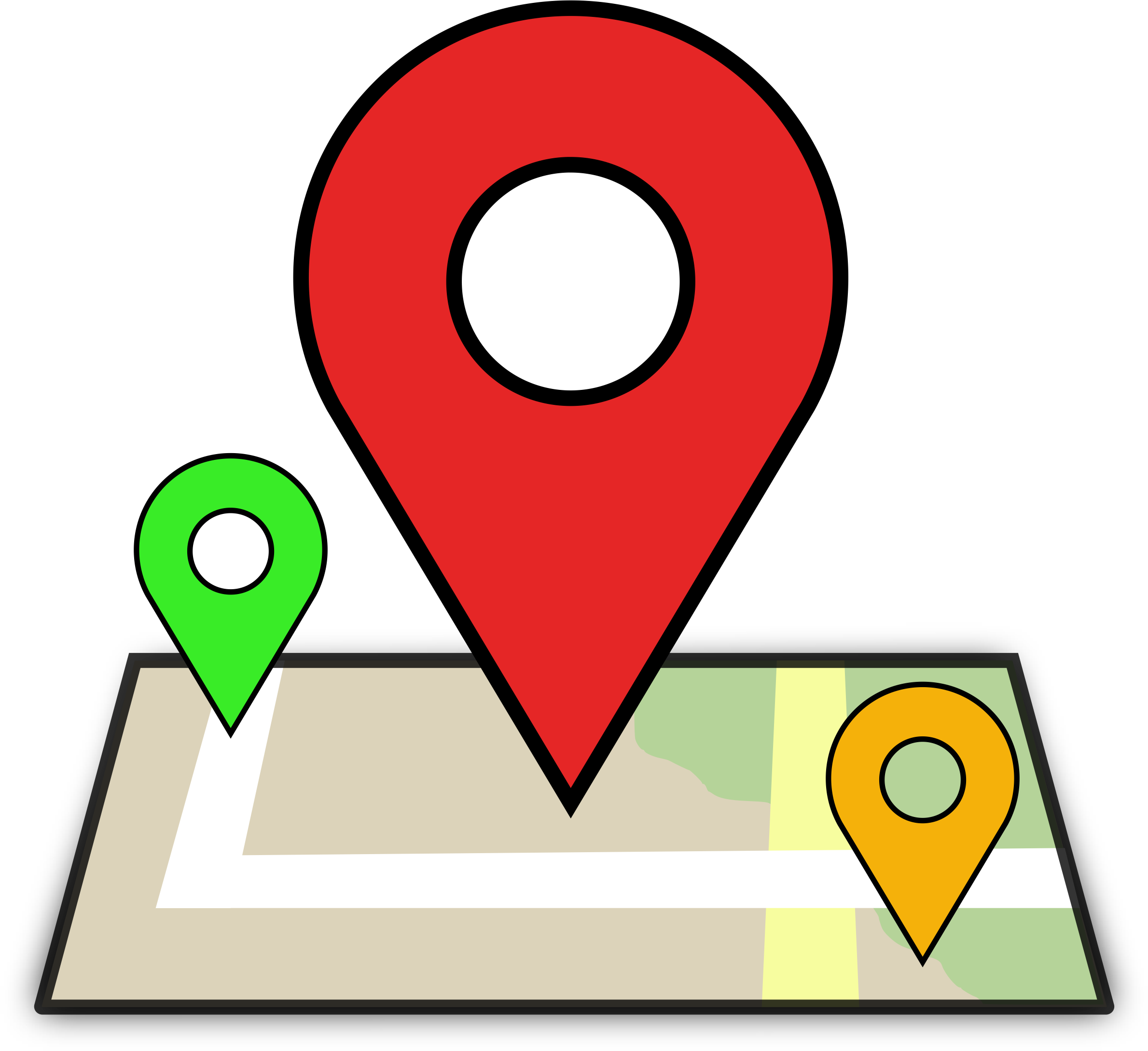Map Computer Location Icon Icons Free Transparent Image HD PNG Image