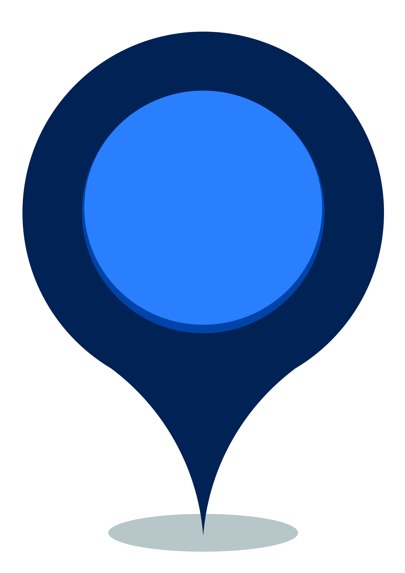 Blue Map Google Pin Maps Maker PNG Image