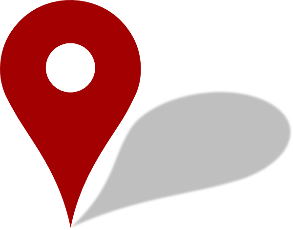 Map Computer Pin Red Icons Free Clipart HD PNG Image