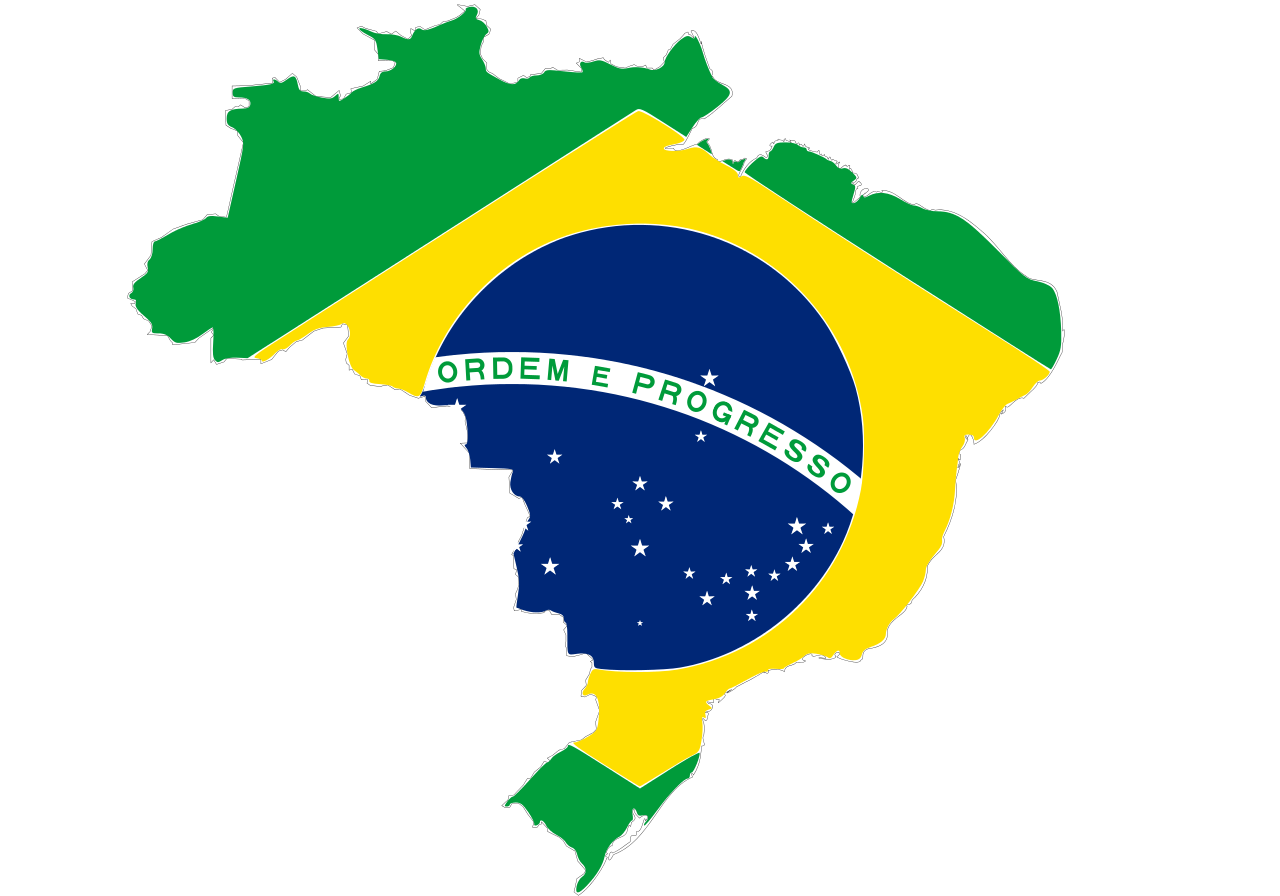Brazil Map Of Wallpaper Flag Computer Logo PNG Image