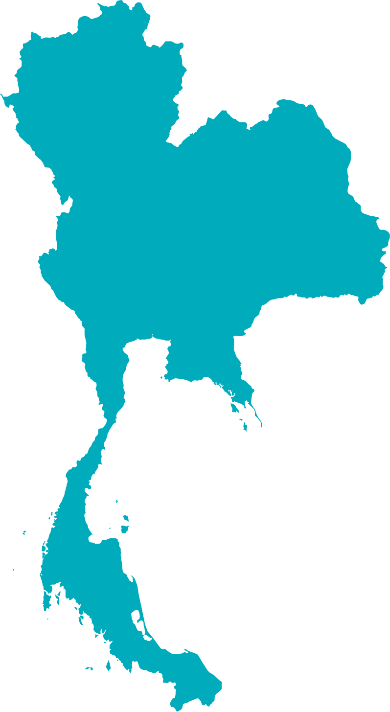 Download Thailand Vector Area Map Free Transparent Image HD ...