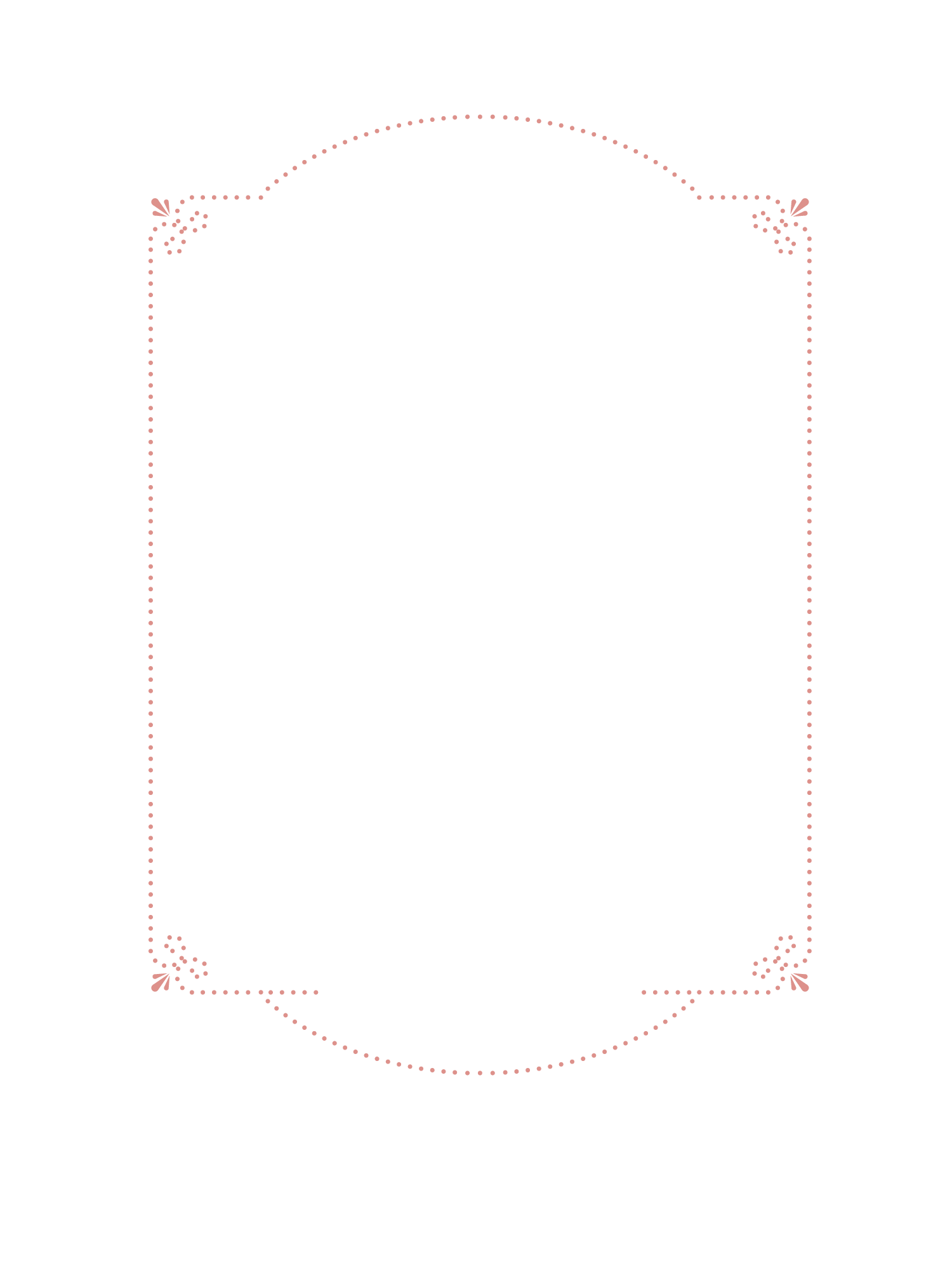 Pink Painted Snow Hand Vector Border PNG Image