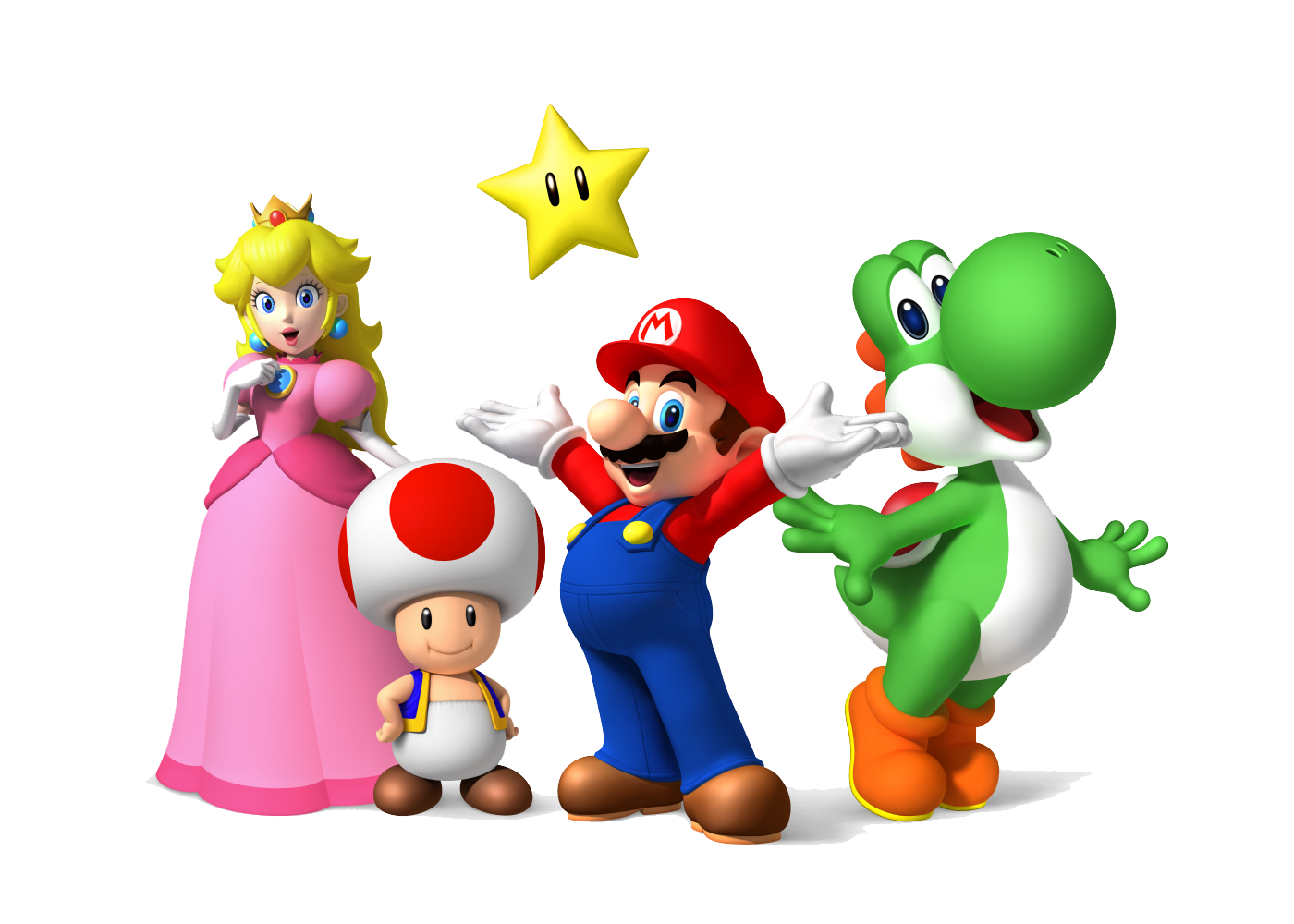 Rush Toy Star Wallpaper Bros Mario Computer PNG Image